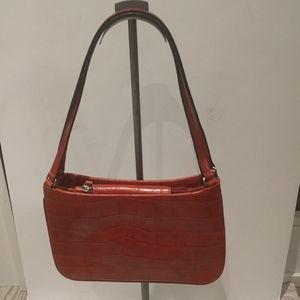 Beautiful red bag by Anne Klein 🍀